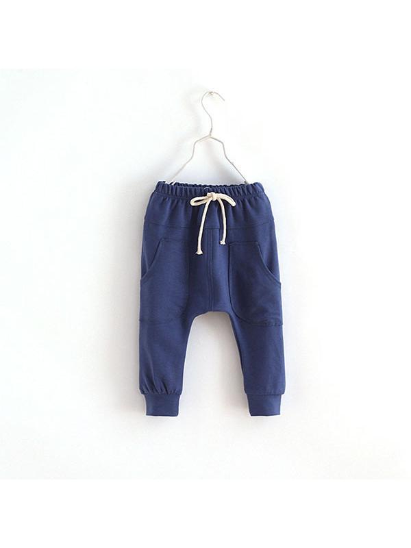 JLONG Toddler Kid Casual Cotton Trousers Baby Boy Girls Harem Pants