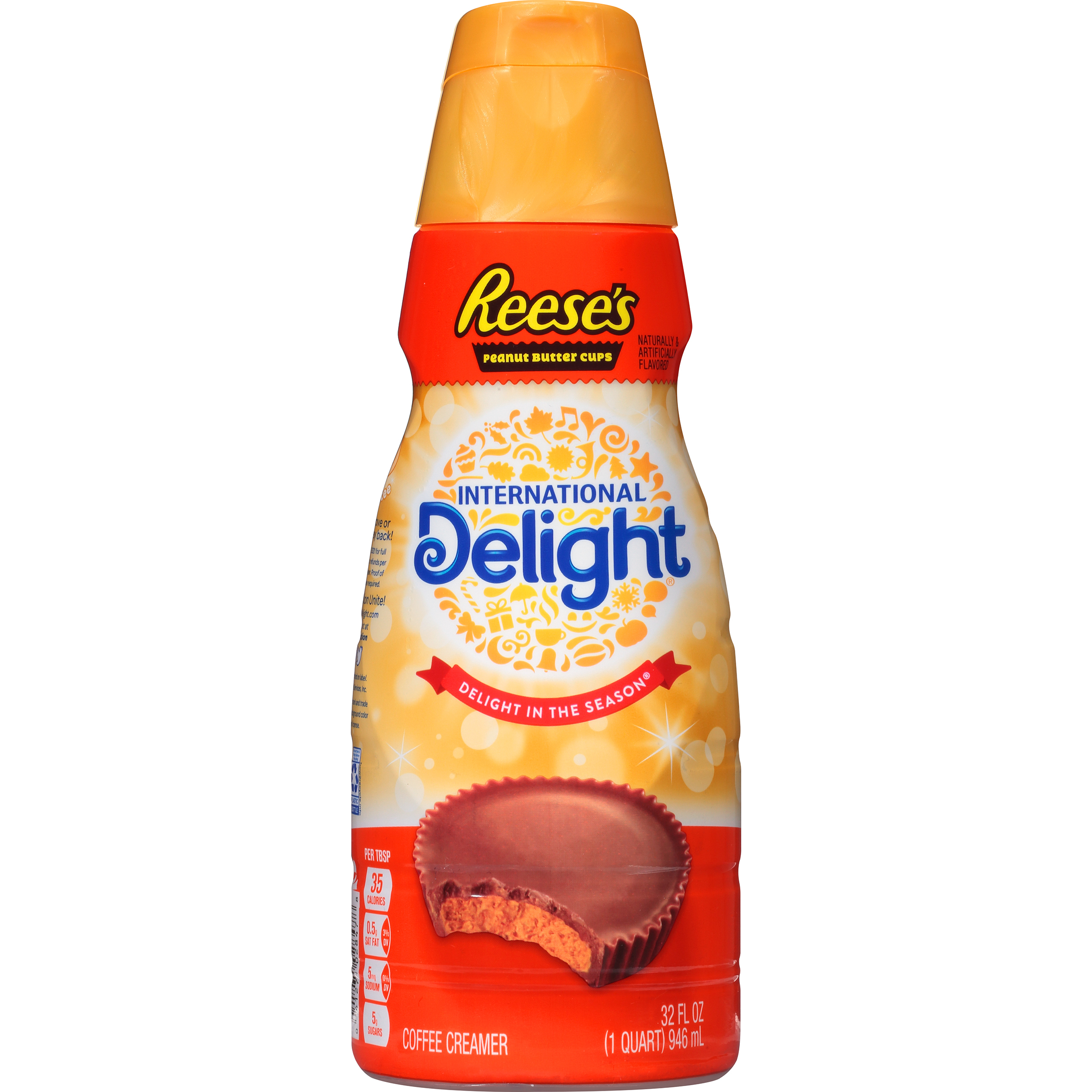 International Delight Reese's Peanut Butter Cup Coffee Creamer, 32 oz