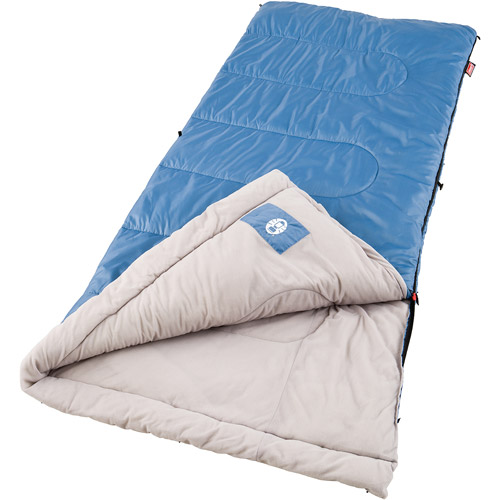 Click here to buy Coleman Trinidad 40- to 60-Degree Adult Sleeping Bag by COLEMAN.