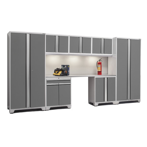 NewAge Products Pro 3.0 I 8 Piece Garage Cabinet System