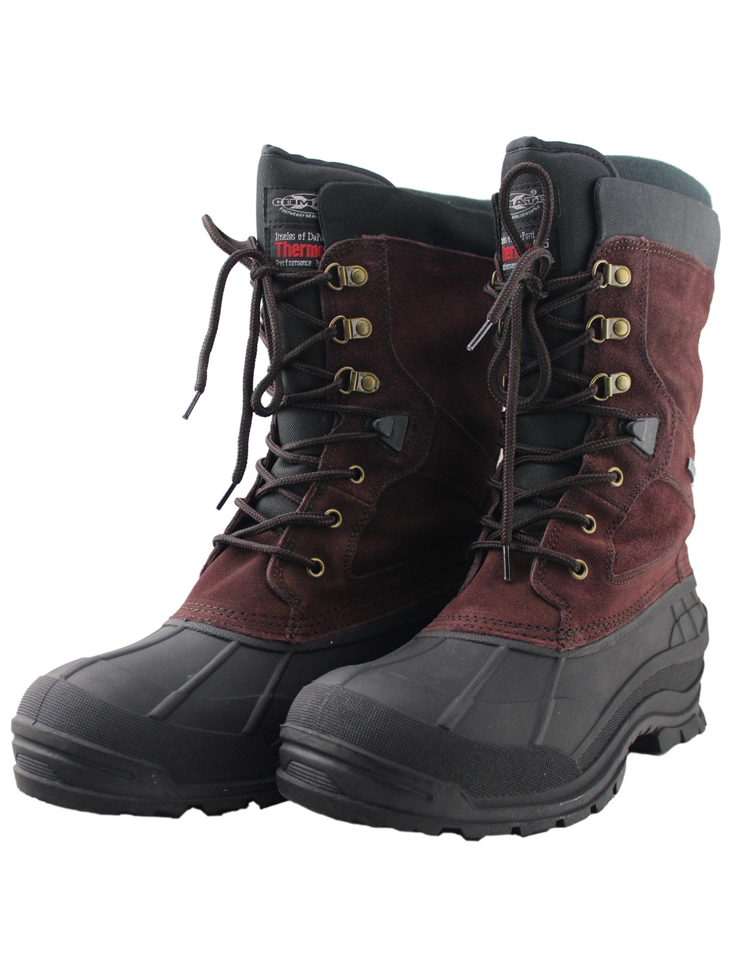 Waterproof Snow Boots for Men Slip