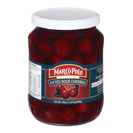 Pitted Sour Cherries in Light Syrup (MP) 24oz