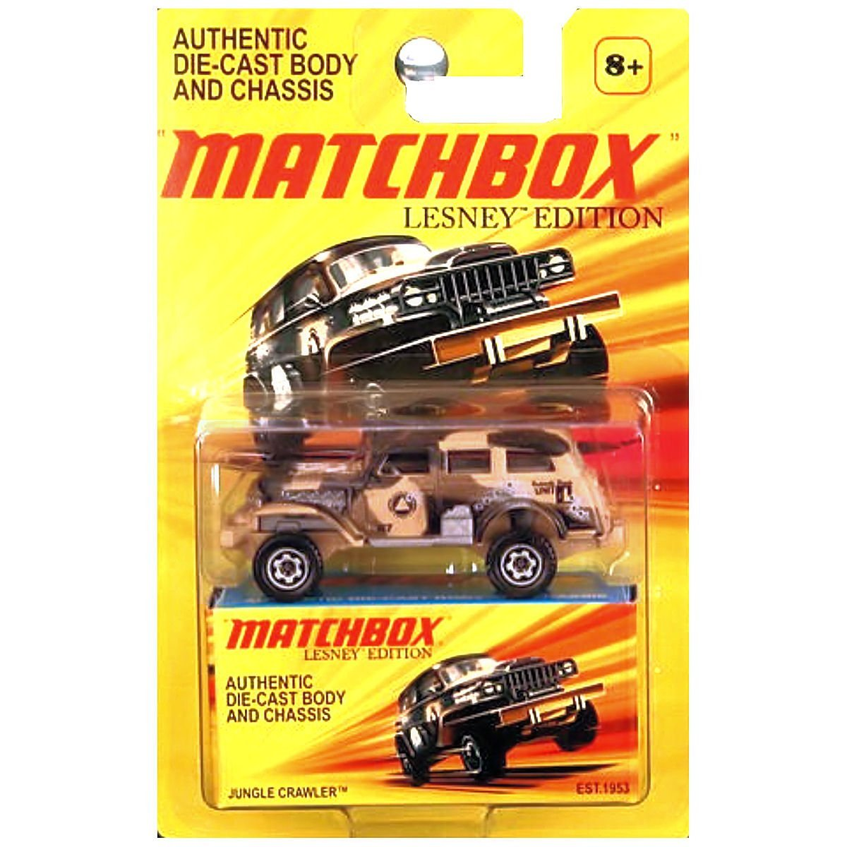 LESNEY Edition JUNGLE CRAWLER MILITARY VEHICLE, GREAT GIFT By Matchbox by