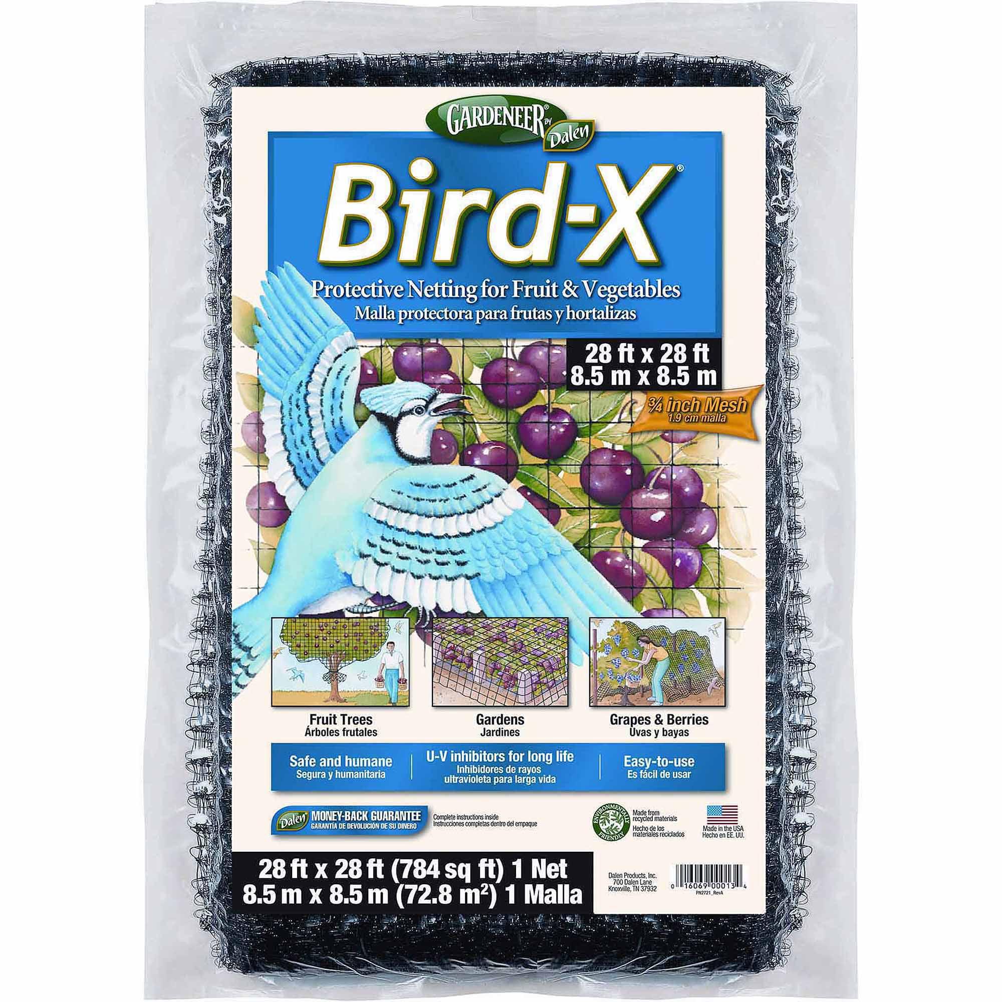 Gardeneer Bird-X Netting, 28ft x 28ft