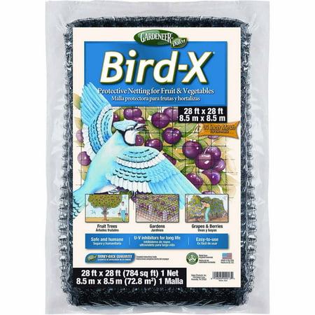 Image of Gardeneer Bird-X Netting, 28ft x 28ft