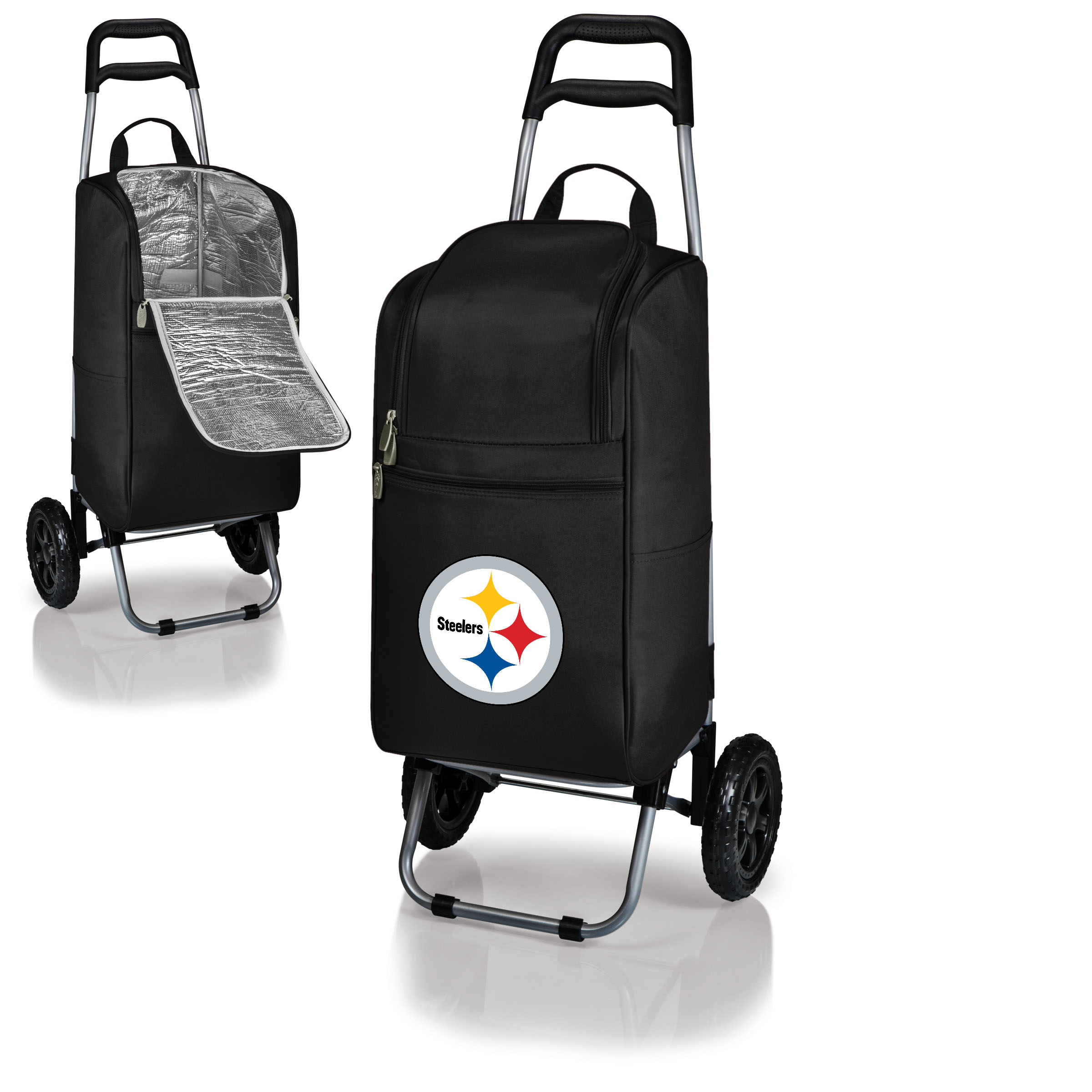 Pittsburgh Steelers Cart Cooler - Black - No Size