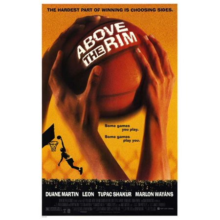 Above The Rim Poster Movie  27X40