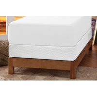 Signature Sleep Gold Inspire 12 inch Memory Foam Mattress with CertiPUR-US certified foam & Foundation: Twin White