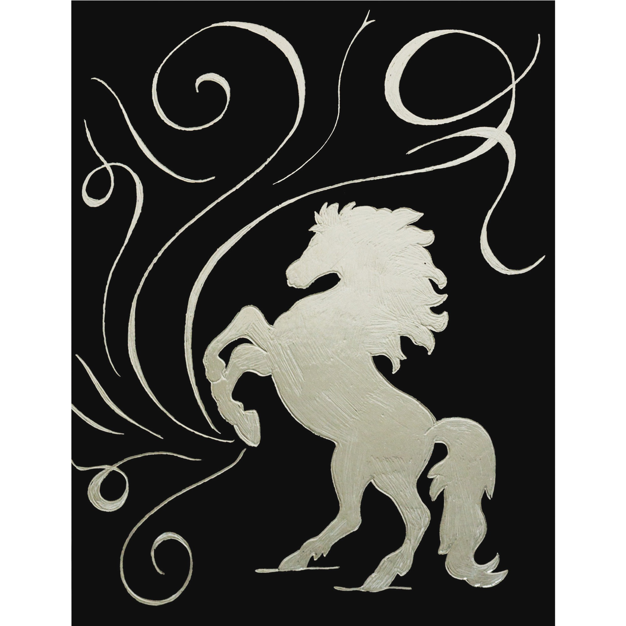 Creativity Street, CKC4626, Now You See It! Etch Silver Boards, 50 / Pack, Silver Metallic,Black