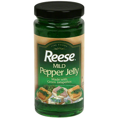 Reese Mild Pepper Jelly, 10 oz (Pack of -
