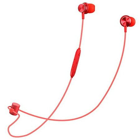 VJJB Wireless Headphones,Bluetooth Earphones Stero Sweatproof Earbuds with Built-in Mic Noise Cancelling Sport Headphones for