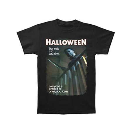 Halloween Men's  One Good Scare T-shirt Black - Good Halloween Dips