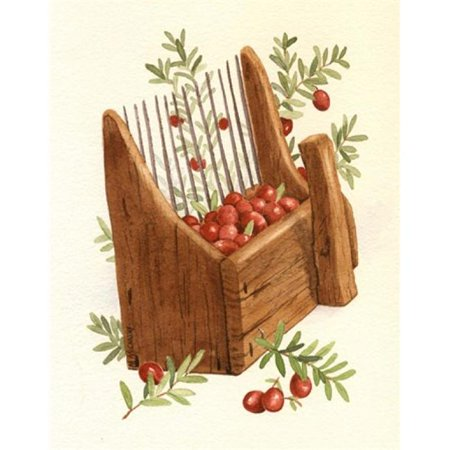 Porterfields PPFMM049 Cranberry Scoop Poster Print by Maureen Mccarthy, 9 x 12 - image 1 of 1