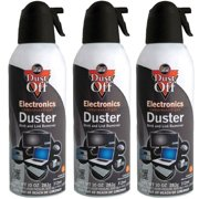 Dust-Off Disposable Compressed Gas Duster, 10 oz Cans - 3 Packs