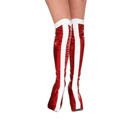Boot Tops Adult Wonder woman - Adult Wonder Woman