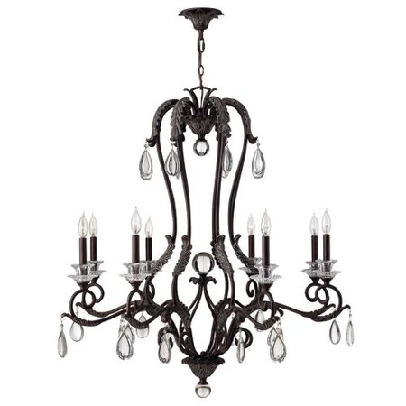 Click here for Hinkley Lighting 4404 Marcellina 8 Light 1 Tier Ca... prices