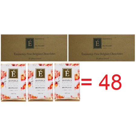 Eminence Fine Belgian Chocolate 2Boxes 48 Pack