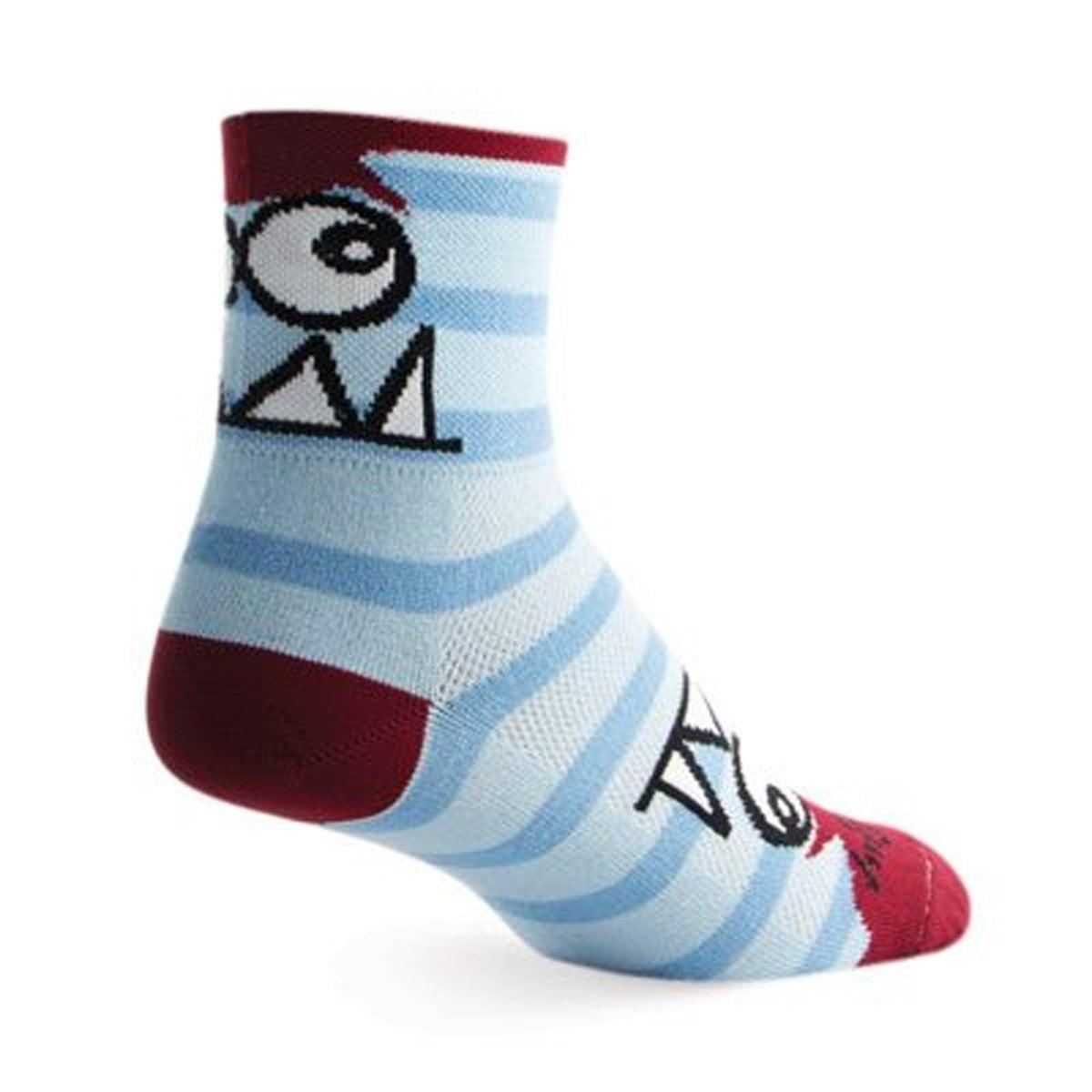 "Socks - SockGuy - Classic 3"" Kenny L/XL Cycling/Running"