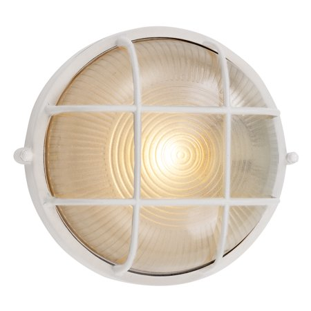 Nautical Light Fixtures Round Bulkhead (Bel Air Lighting  CB-41505-WH 8