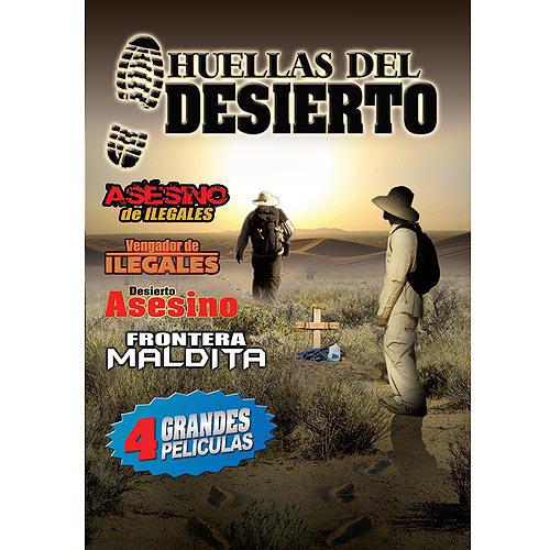 Huellas Del Desierto (4 Peliculas) (Spanish)