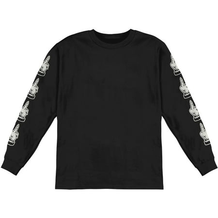 Bring Me The Horizon Men's  Devils Hand  Long Sleeve Black](Bring Me The Horizon Halloween)