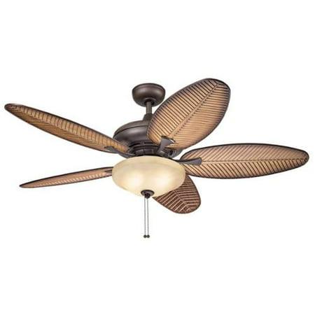 kichler lighting casual bronze ceiling fan with 2 light kit walmart. Black Bedroom Furniture Sets. Home Design Ideas