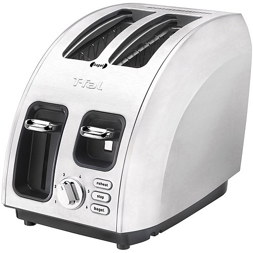 T-Fal Stainless Avante 2-Slice Toaster