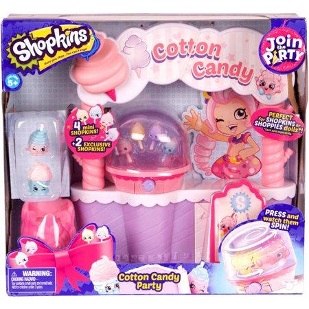 Shopkins Season 7 Playset, Cotton Candy Stand