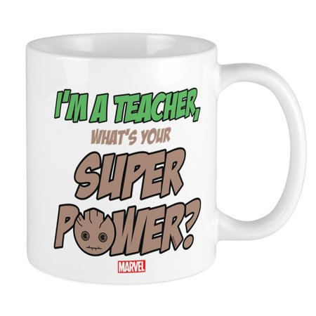 5 Lb Cups - CafePress - GOTG Groot Teacher Mug - Unique Coffee Mug, Coffee Cup CafePress