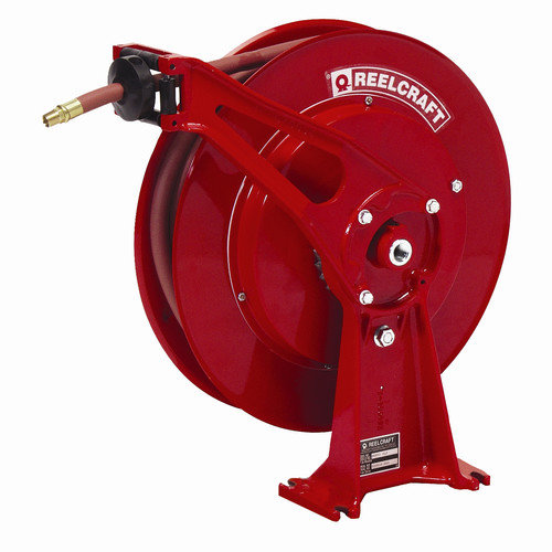 Reelcraft 0.38'' x 50', 300 psi, Ultimate Duty Air / Water Reel with Hose