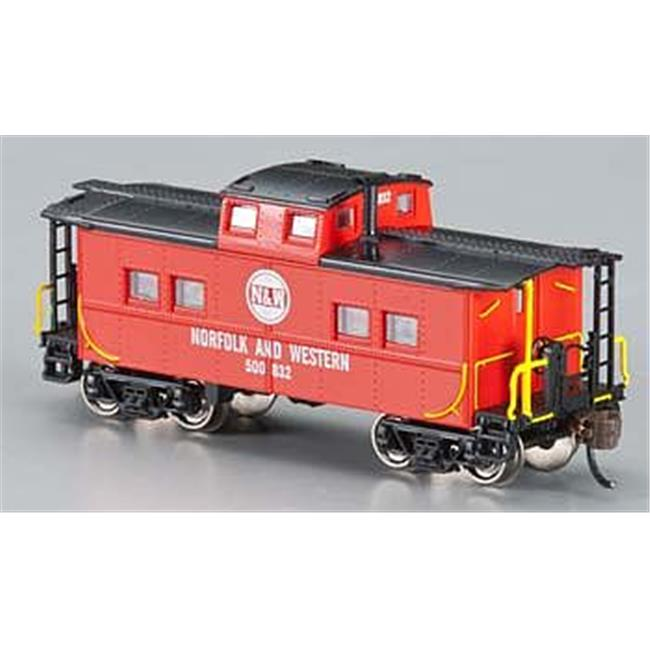 Bachmann BAC16855 N Northeast Steel Caboose Norfolk and Western