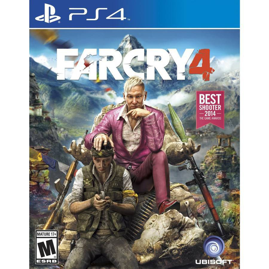 Ubisoft Far Cry 4 (PS4) - Pre-Owned