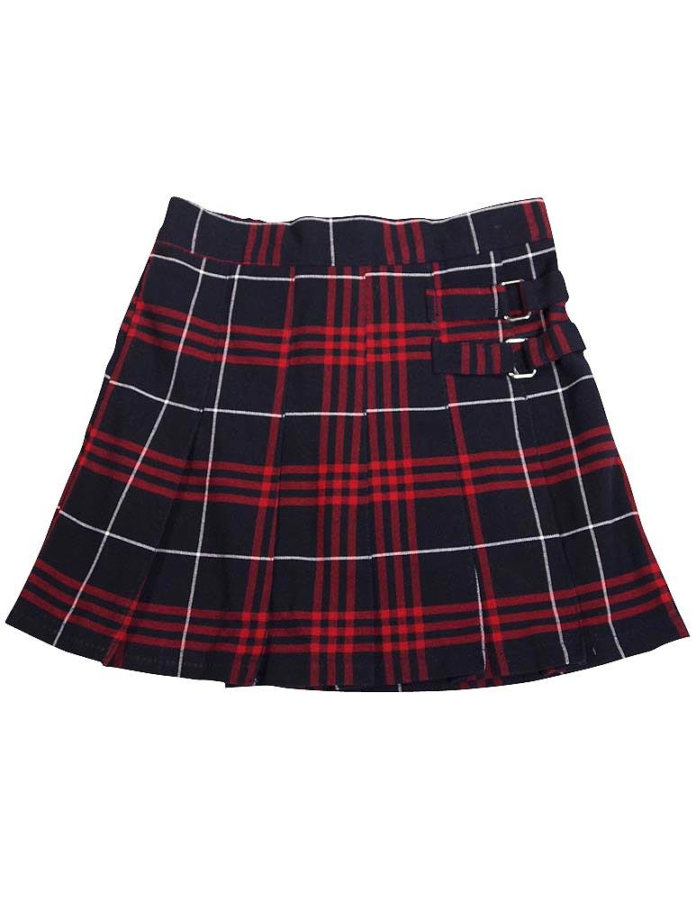 Classroom Uniforms Girls Plus Plaid Double Pleated Scooter