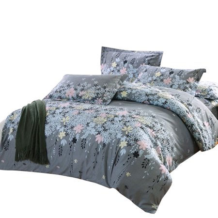 home bedroom cozy duvet cover pillowcase bedding set 3 piece. Black Bedroom Furniture Sets. Home Design Ideas