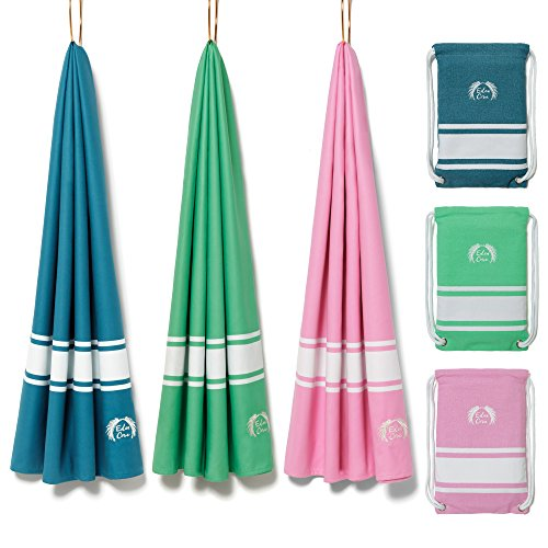 Small Large Details about  /Microfibre Towel Pink Sports Beach Yoga Swimming Bath Gym