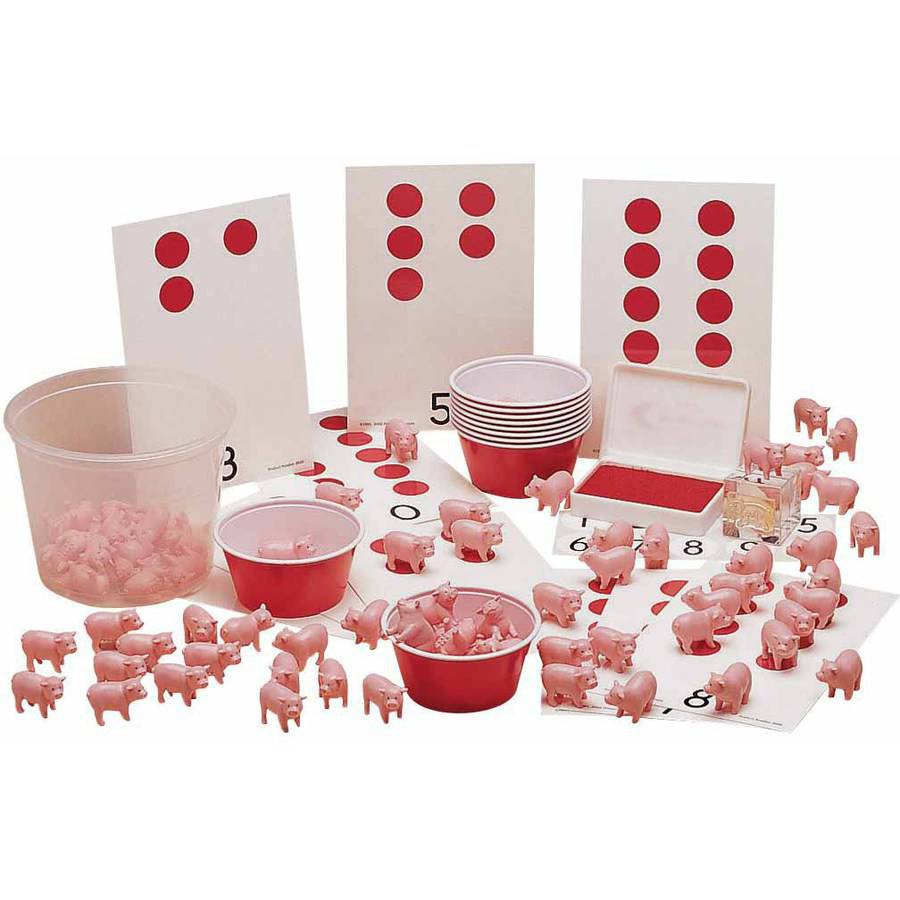 Primary Concepts Count-a-Pig Counting Kit
