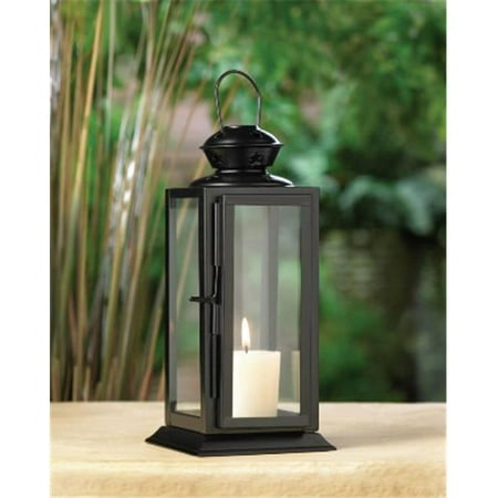 Tall Black Starlight Candle Lantern (Black Lantern Ring)