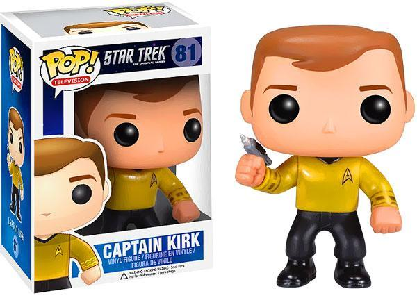 Star Trek Funko POP! Television Captain Kirk Vinyl Figure by