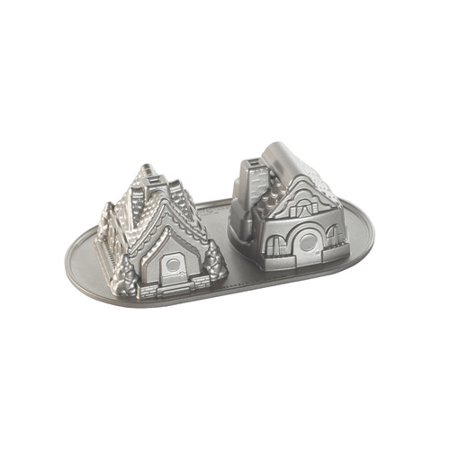 Nordic Ware Gingerbread House Duet