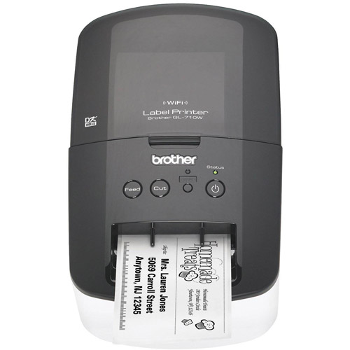 Brother QL-710W High-Speed Label Printer with Wireless Networking