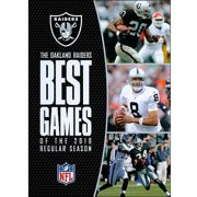 NFL The Oakland Raiders: Best Games Of 2010 Season by WARNER HOME ENTERTAINMENT