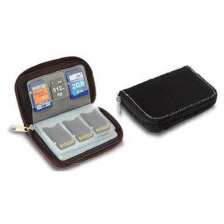 Link Depot Memory Card Carrying Case Black Walmart Com