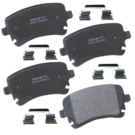 Go-Parts » 2013-2013 Audi A5 Quattro Rear Disc Brake Pad Set for Audi A5  Quattro