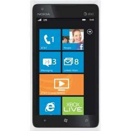 Refurbished Nokia Lumia 900  White 16Gb  At