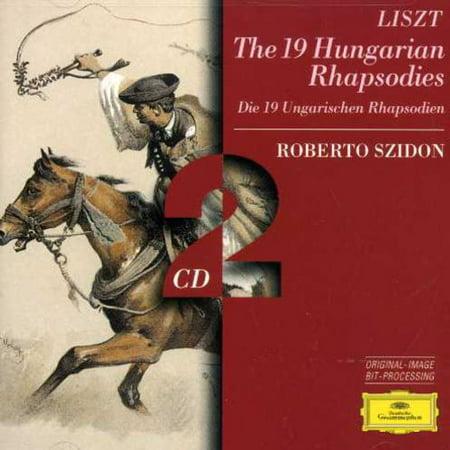 19 Hungarian Rhapsodies (Liszt Horowitz Hungarian Rhapsody No 2 Sheet Music)