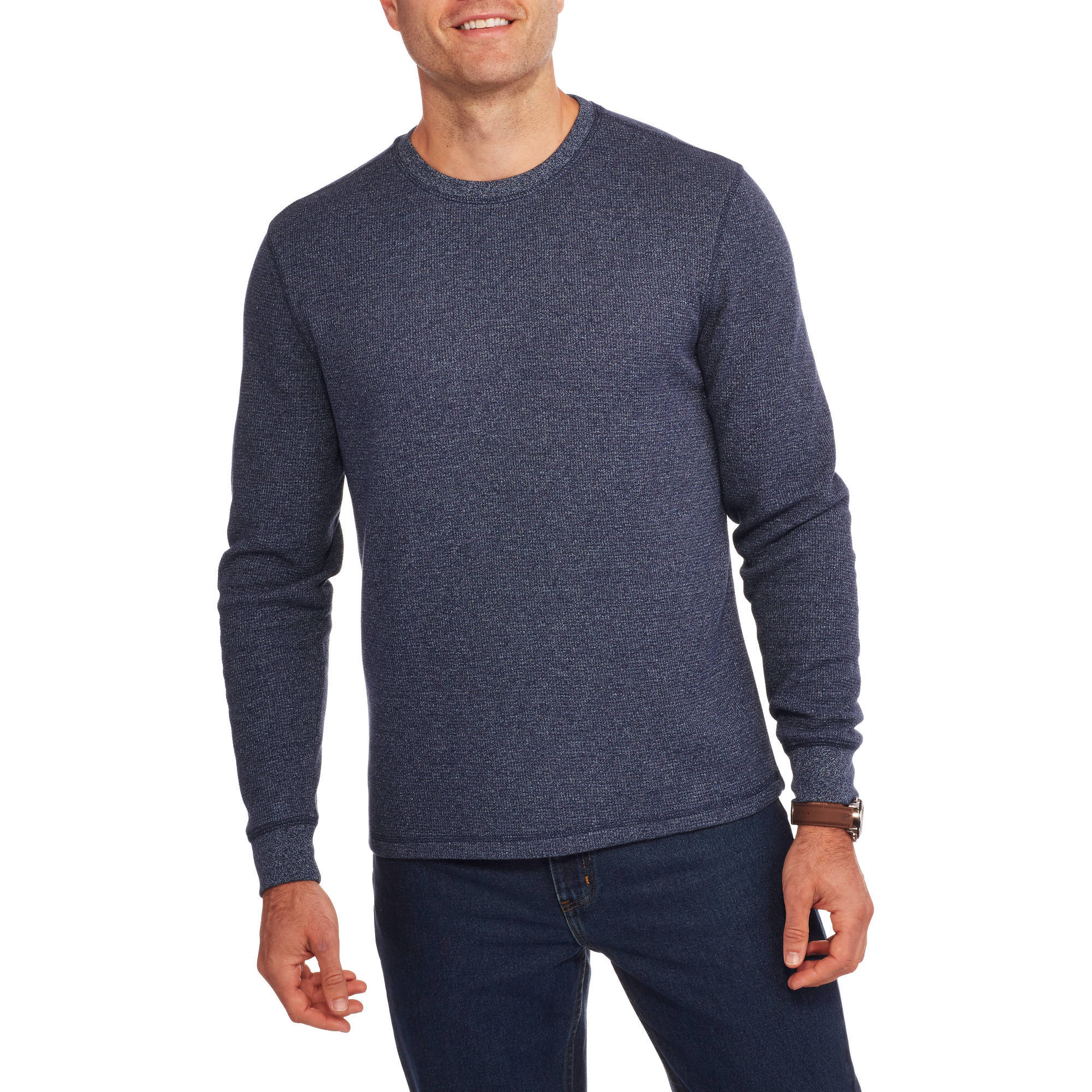 Faded Glory Big Men's Long Sleeve Thermal Crew