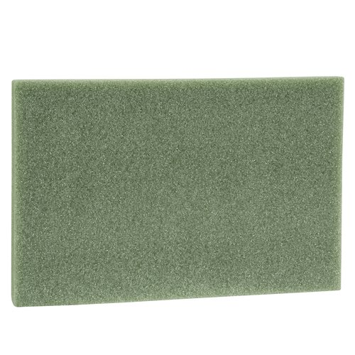 Design It Styrofoam Block 2x12x18in, Green