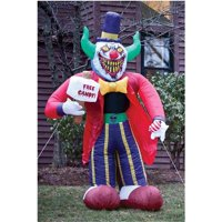 V.I.P. Free Candy Clown 7' Airblown Halloween Accessory Deals