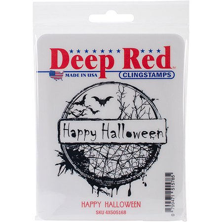 Deep Red Cling Stamp 3