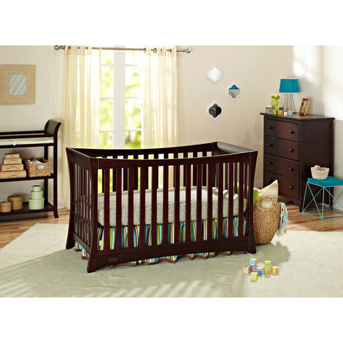 Graco Tatum 4-in-1 Convertible Fixed-Side Crib